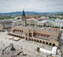 De Oude Stad in Krakau