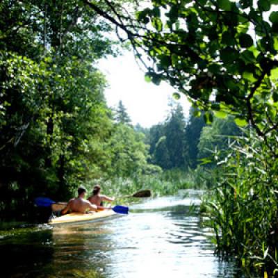 Kayaking with AB Poland Travel