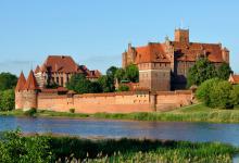 Het kasteel van de Germaanse orde in Malbork