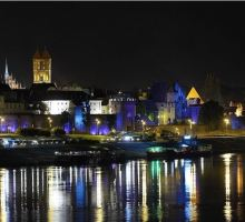 Torun, Polen, nacht