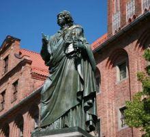 Nicolaas Copernicus monument in Torun