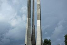 Het monument voor de omgekomen scheepslieden