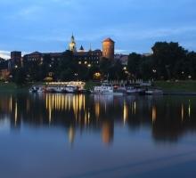 Krakau, Wawel heuvel