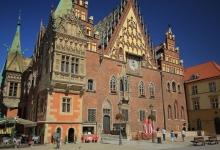 Ostrow Tumski in Wroclaw