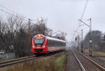 Warsaw city train