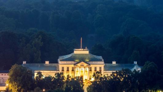 Belweder Palace in Warsaw