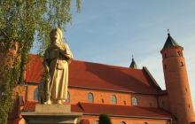 Een kerk in Brochow