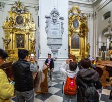 De Heilige Kruis Kerk in Warschau