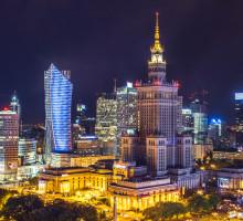 Het Paleis van Cultuur en Wetenschap, Warschau