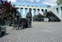 Het Krasinskich Plein in Warschau