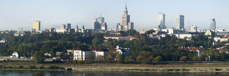 View on Warsaw
