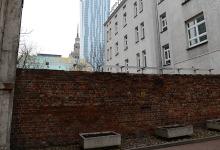 Overblijfselen van de Ghetto muur