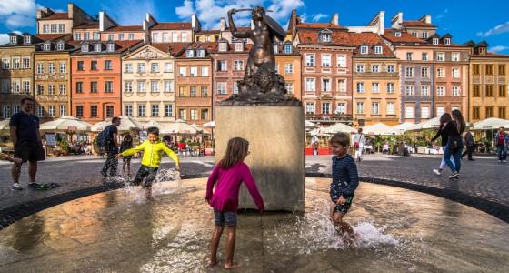 Warschau, Marktplein in de Oude Stad