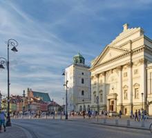 St. Anne's kerk, Warschau