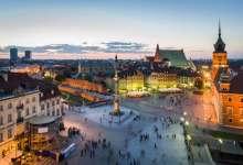 Het Kasteelplein in Warschau